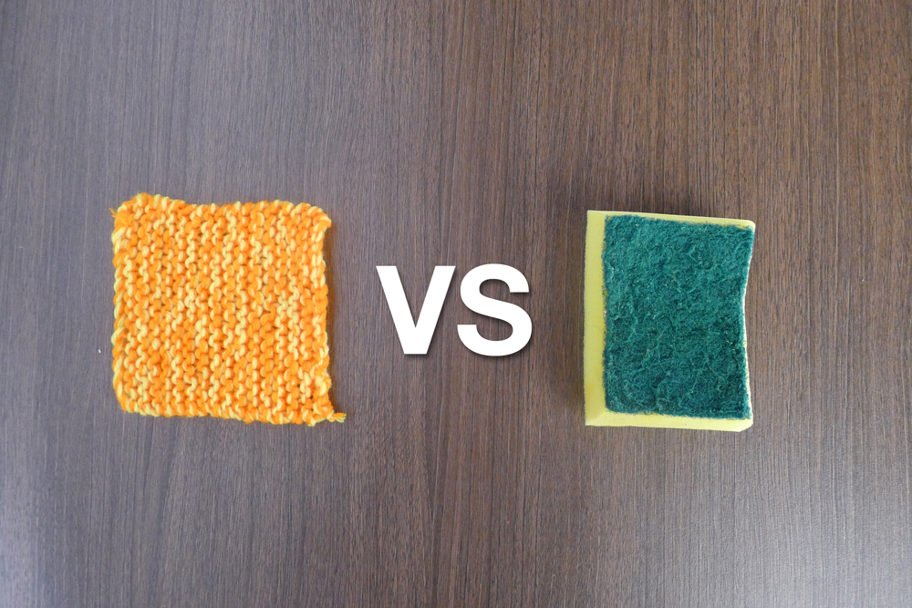 4 Reasons Why a Dishcloth is Better than a Sponge
