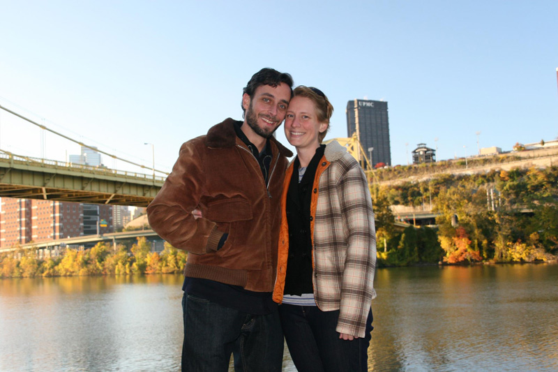 October 2012 - Fall colors along the Mon River in Pittsburgh, PA