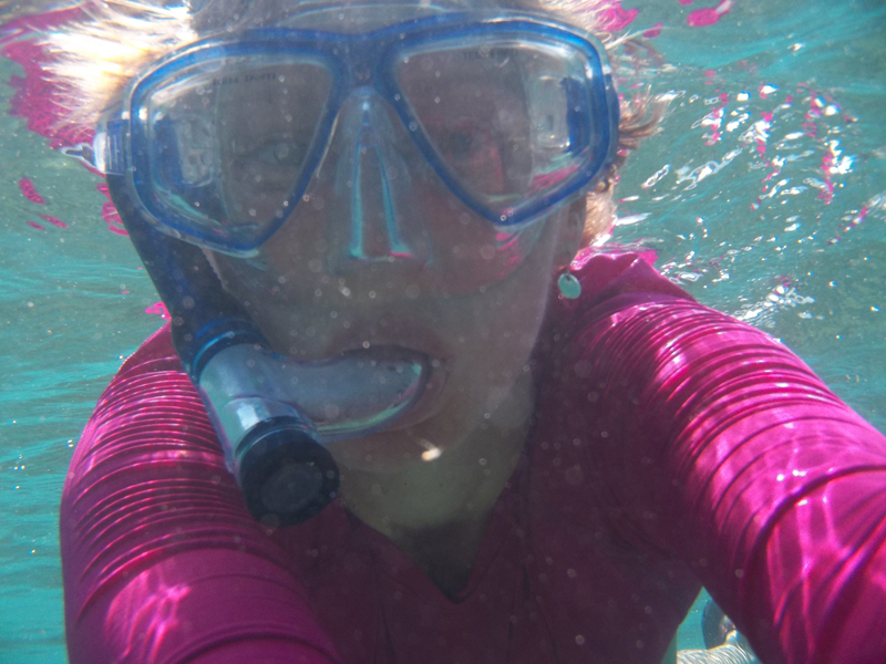 May 2013 - Snorkeling on Isla Mujeres, Mexico