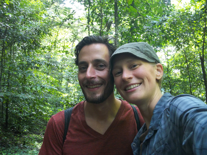 August 2013 - Hiking in the cloud forest in Matagalpa, Nicaragua