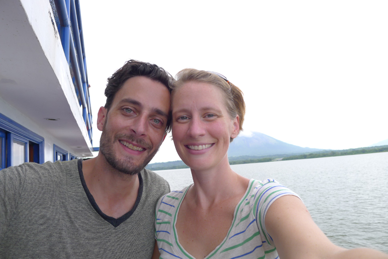 September 2013 - The ferry to Ometepe island, Nicaragua