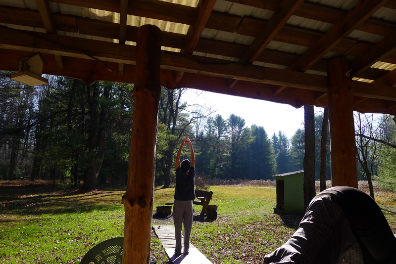 November 2012 - Yoga in Cook Forest, PA