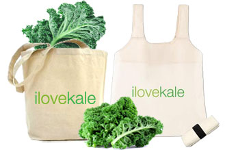 kale shopping bags