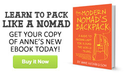 The Modern Nomad's Backpack