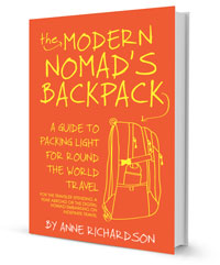 The Modern Nomad's Backpack ebook cover