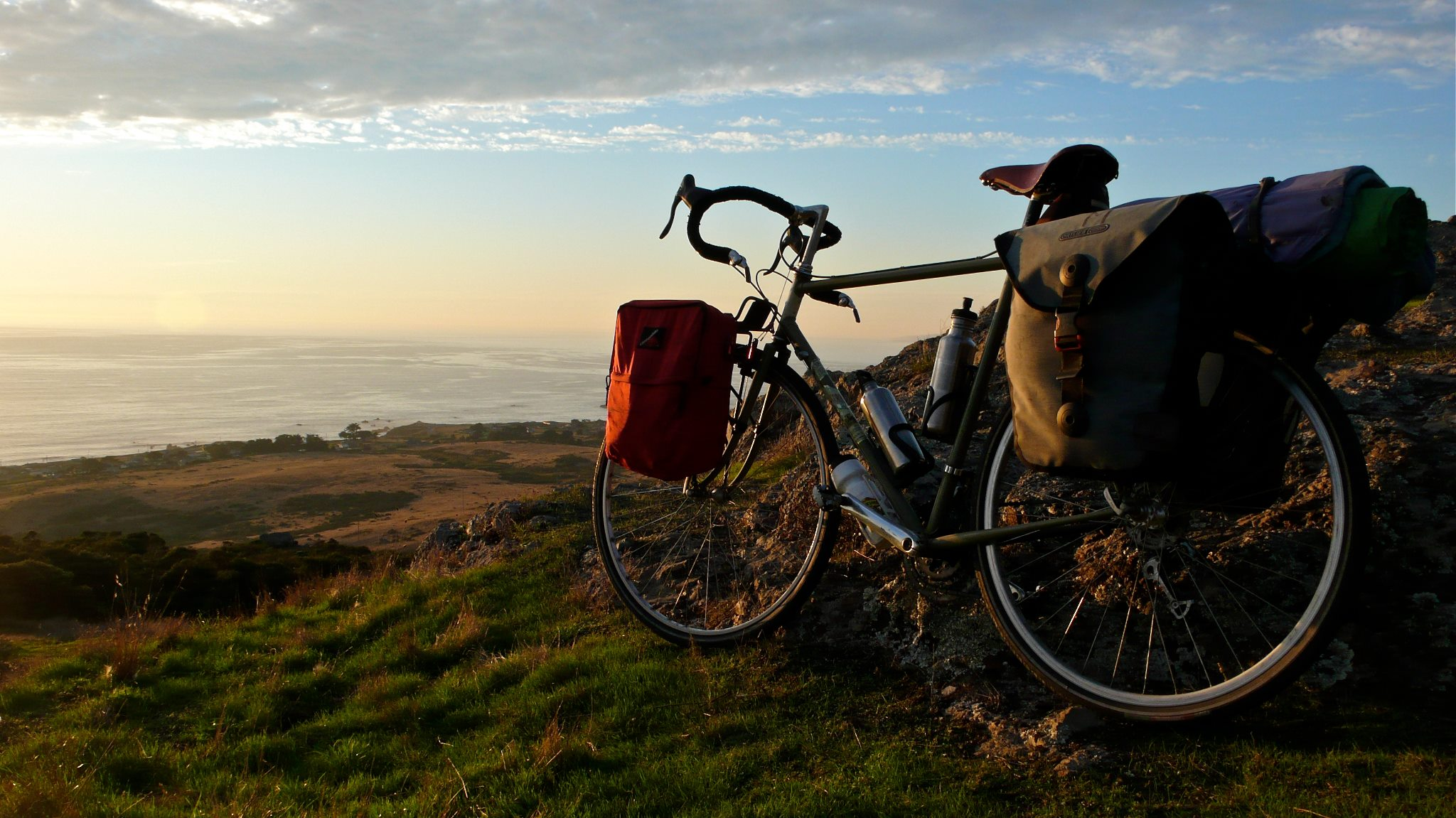It's been a long time since THIS happened, but... This is why I love bike touring always and forever. -- Anthony Musick