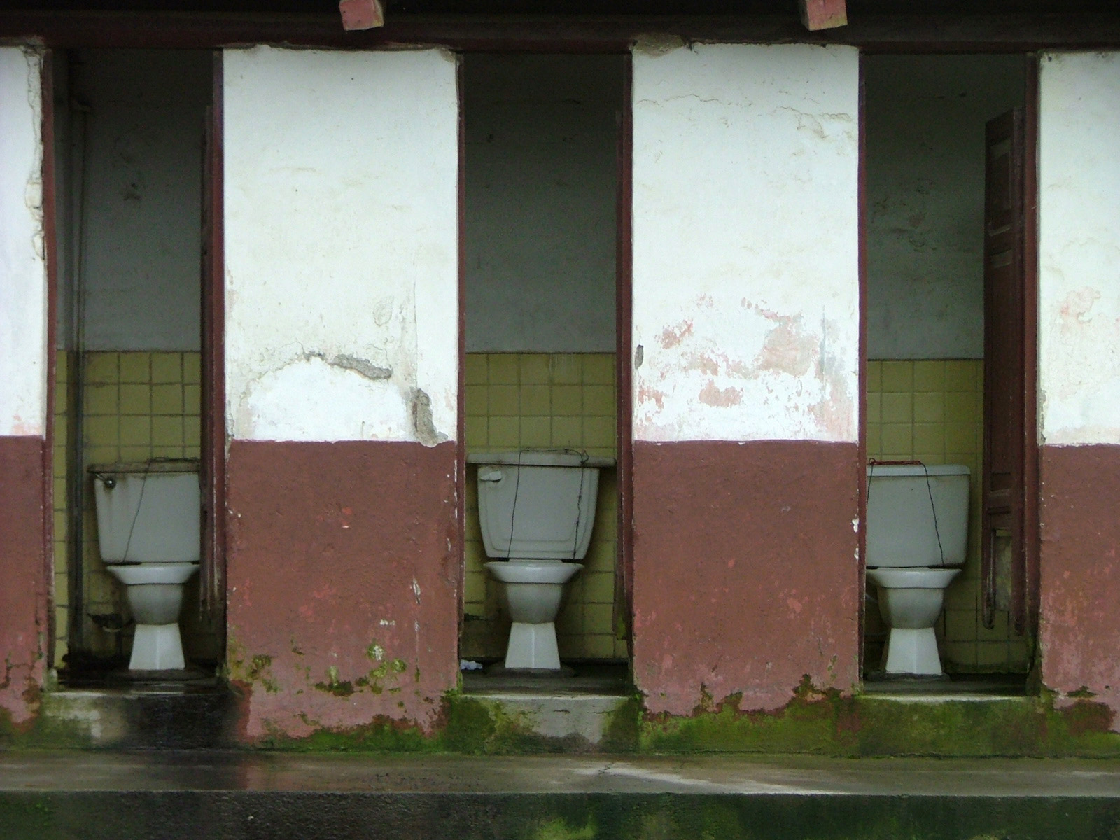 Roadside toilet in Ecuador - Photo by Crissie Hardy