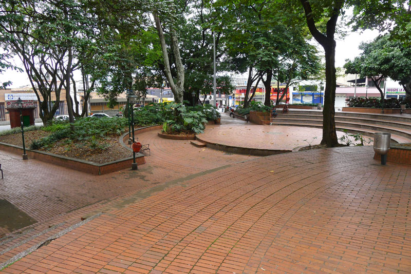 Parque Poblado: where events tend to take place