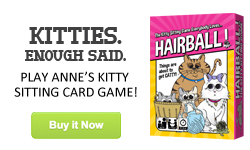 Hairball! The Kitty Sitting Card Game