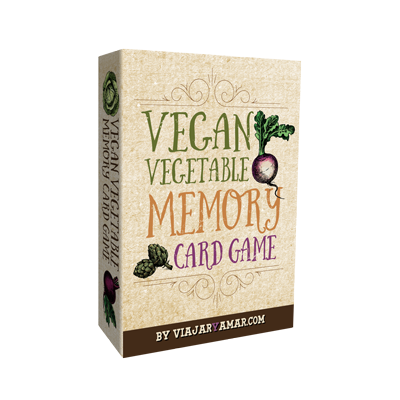 Vegan Vegetable Memory Game