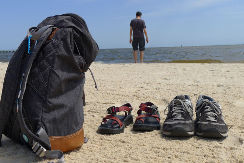 HOT: Biloxi's white sand beaches and an excuse to take off our shoes!